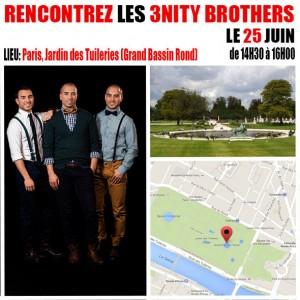 Demain-Meet-Greet-3nity-Brothers-25-juin-jardin-tuileries-Paris-France-1