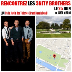Demain-Meet-Greet-3nity-Brothers-25-juin-jardin-tuileries-Paris-France-1
